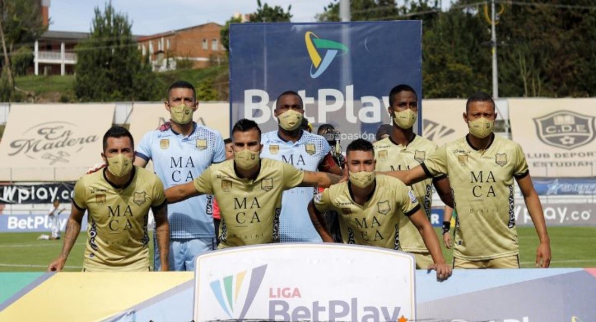 Águilas Doradas perdió ante Boyacá Chicó. Foto: Twitter Prensa redes Águilas Doradas.