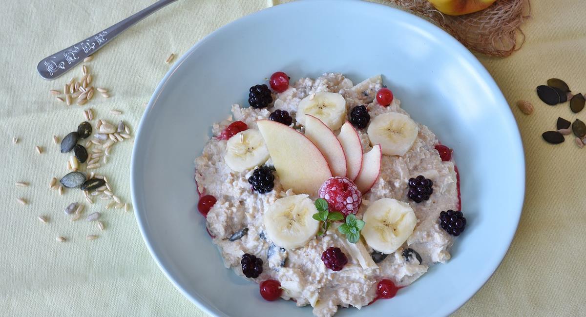 La avena te brinda nutrición, vitaminas y minerales que debes añadir a tu alimentación. Foto: Pixabay