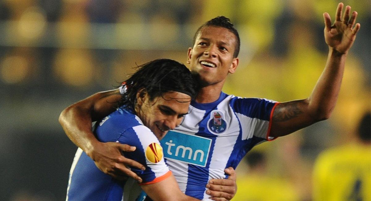 Falcao García y Fredy Guarín compartieron éxitos en Porto. Foto: Twitter @FCPorto
