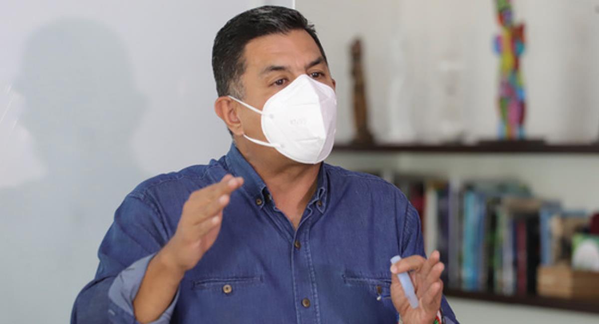 Jorge Iván Ospina, alcalde de Cali. Foto: Alcaldía de Cali