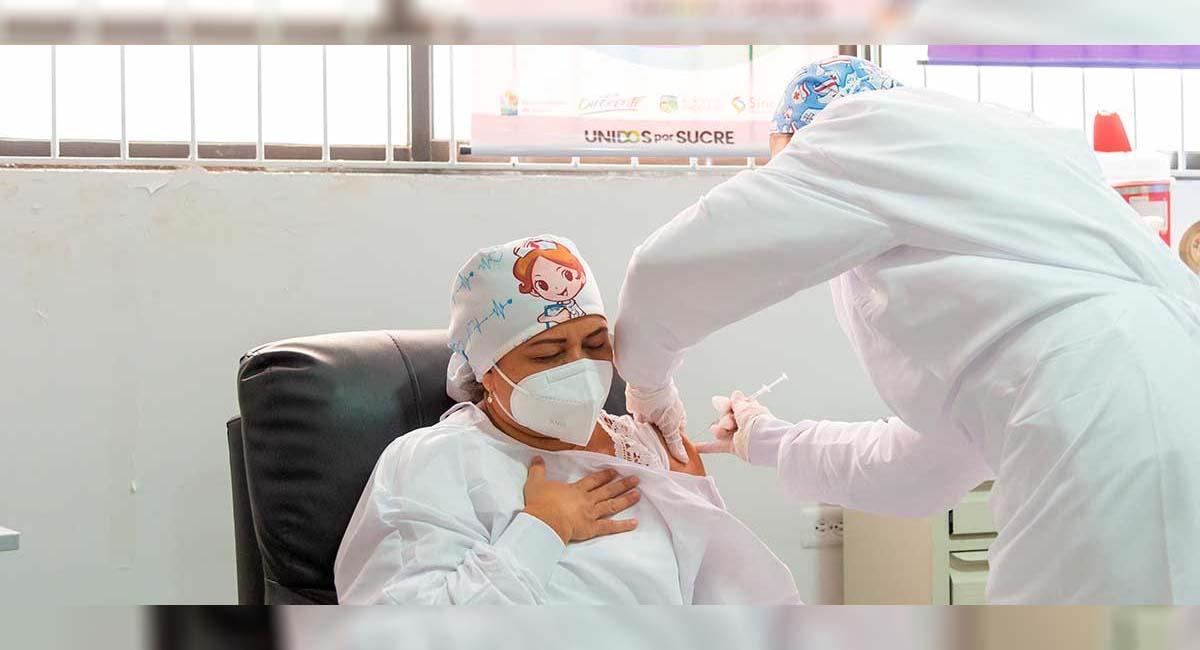 Los médicos son la población con más riesgo frente a la COVID-19. Foto: Presidencia Colombia