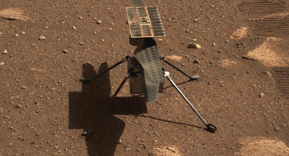 'El Ingenuity' no volará el próximo 14 de abril, como se había anunciado por la NASA. Foto: Twitter