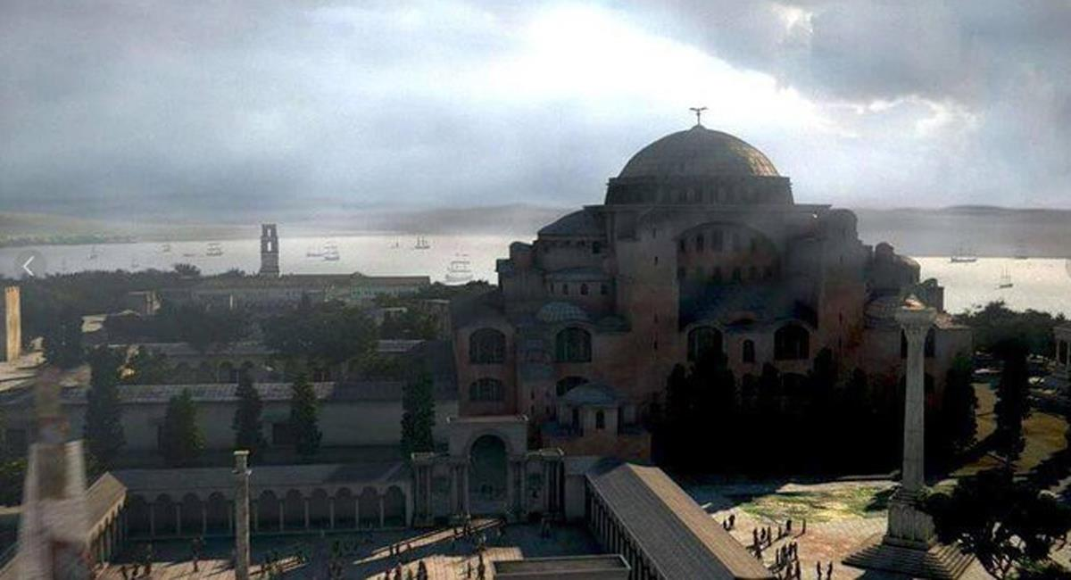 Constantinopla, la capital del Imperio Bizantino, es actualmente Estambul, capital de Turquía. Foto: Twitter @Imperio_e