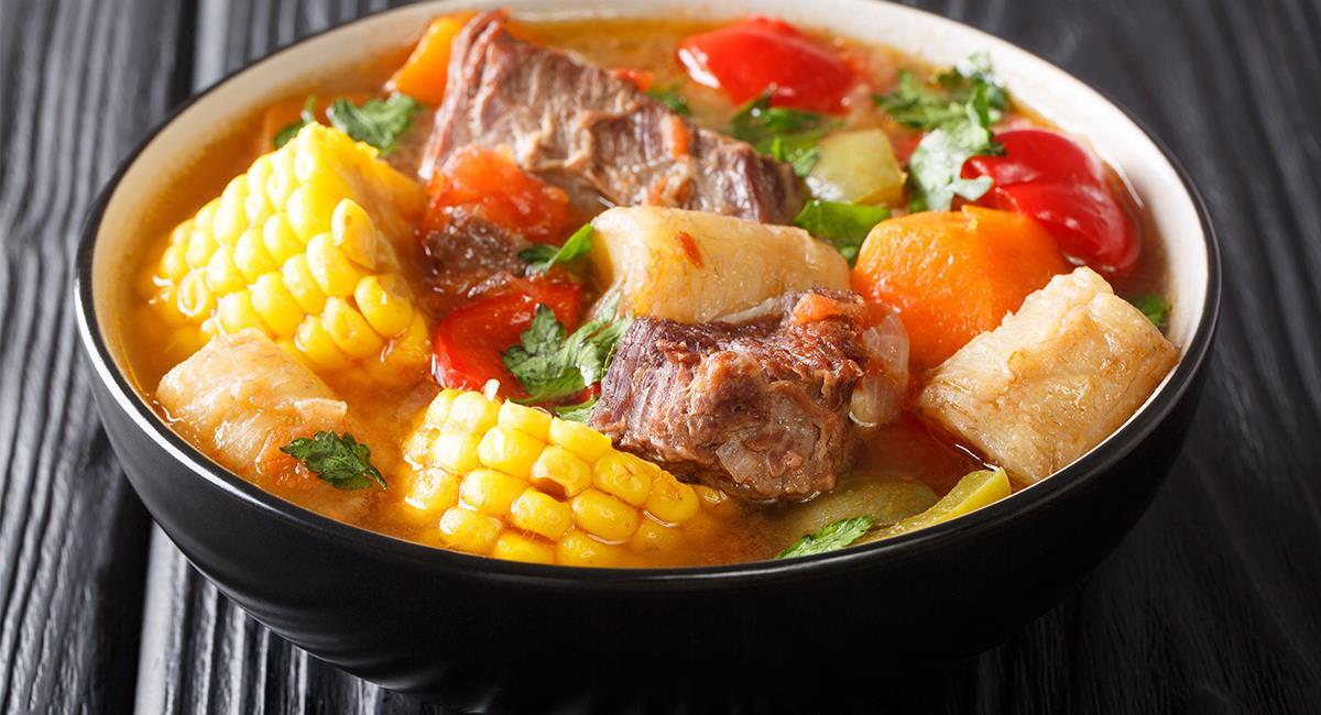 Los 'sancochos' te aportan muchos beneficios nutritivos, a la hora de comer sano. Foto: Shutterstock