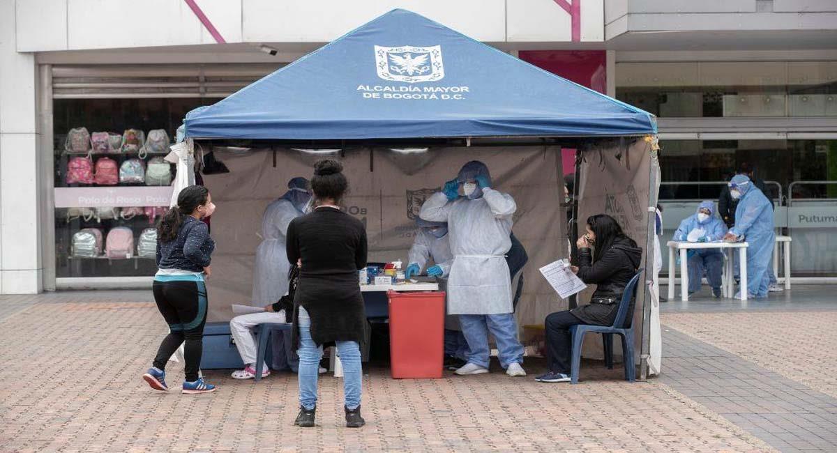 En el caso de Bogotá, se mantendrá la realización de pruebas gratuitas en la ciudad. Foto: Alcaldía de Bogotá