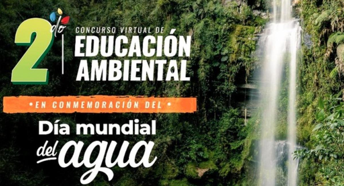 Invitación al Segundo Concurso de Educación Ambiental en Cundinamarca. Foto: Gobernación de Cundinamarca