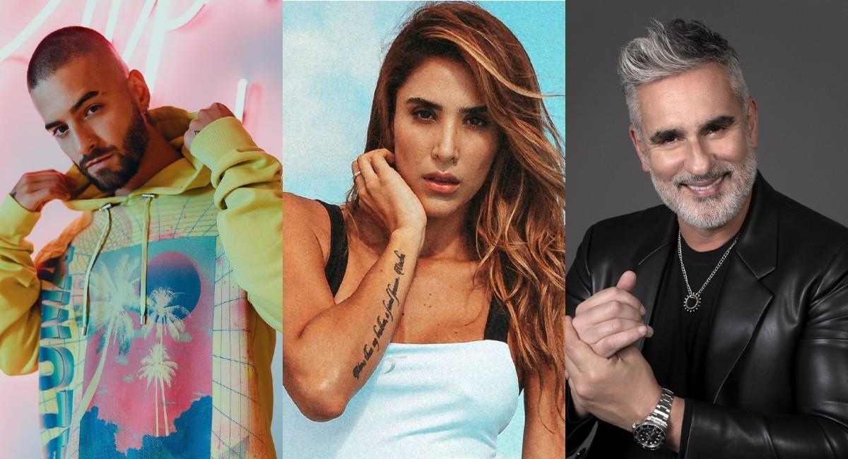 Varios famosos colombianos se han mostrado felices de recibir la vacuna. Foto: Instagram