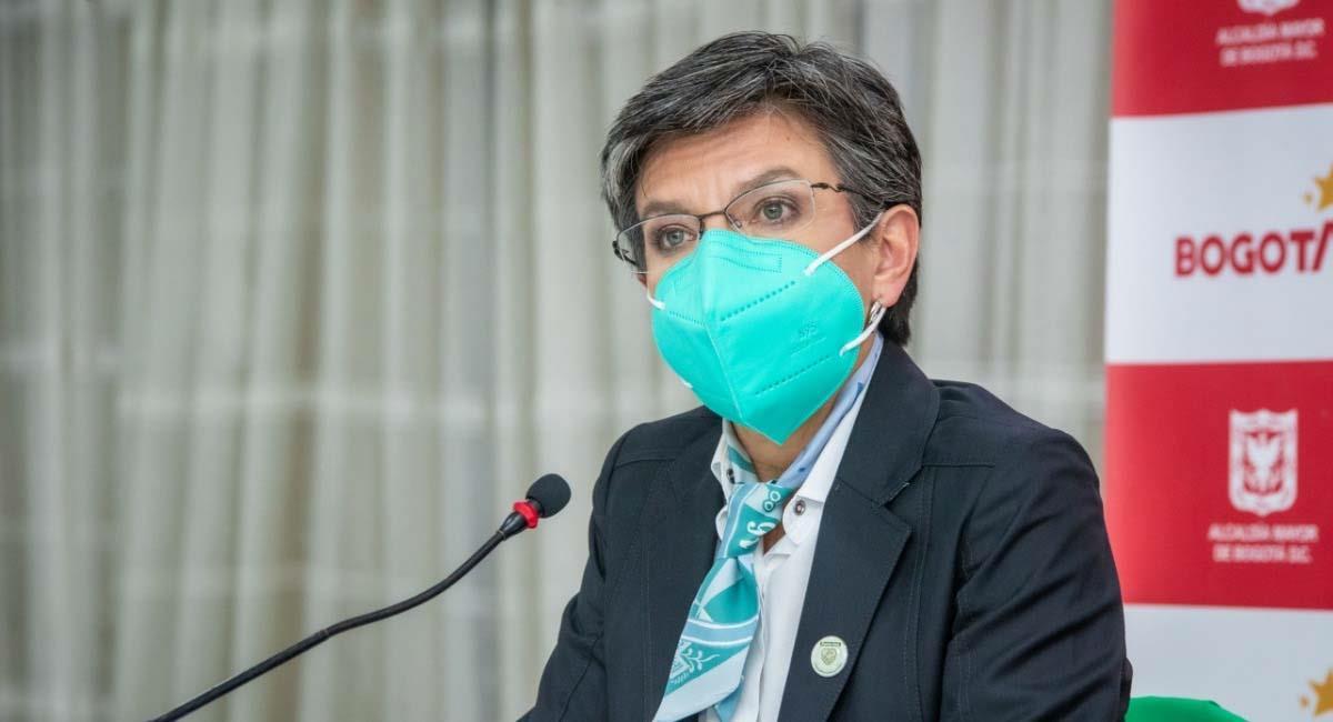 Claudia López, alcaldesa de Bogotá. Foto: Alcaldía de Bogotá