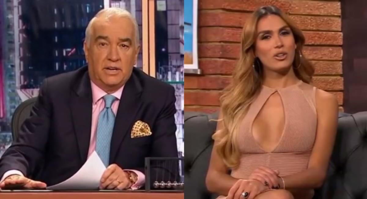 El presentador se disculpó con la actriz al finalizar la entrevista. Foto: Instagram