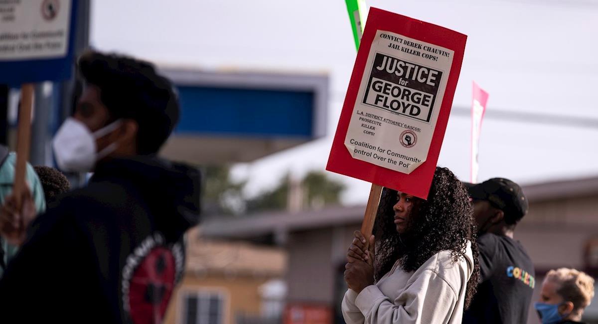 Policía se niega a dar testimonio en el caso de George Floyd. Foto: EFE