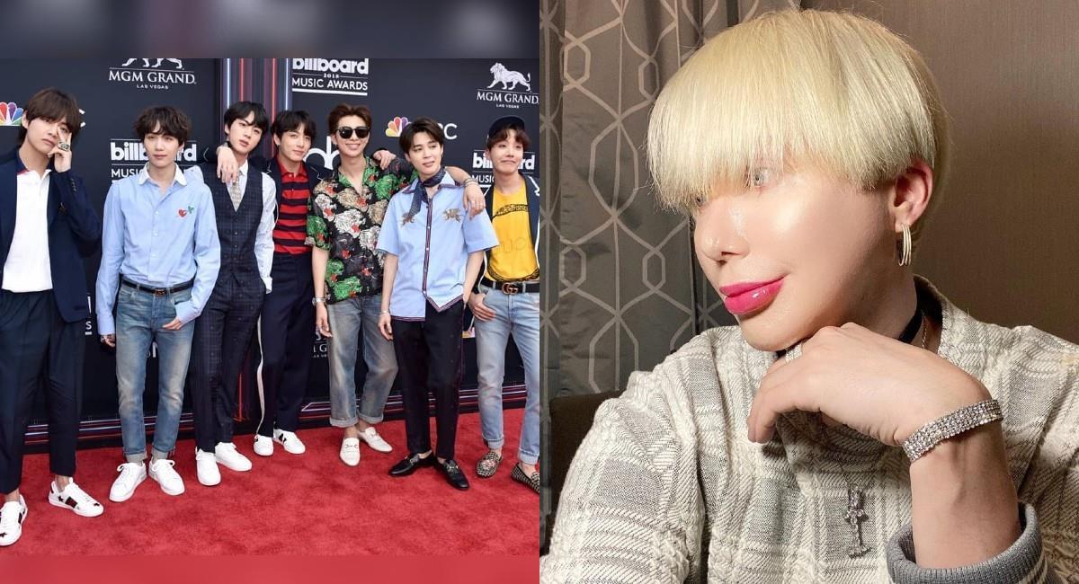 Oli London, el fanático de BTS que se operó para parecerse a uno de sus integrantes