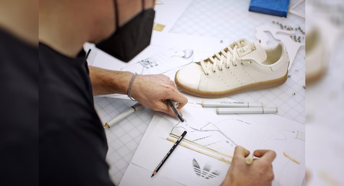 Pensando en la naturaleza, Adidas crea zapatillas hechas con raíces de hongos. Foto: Adidas