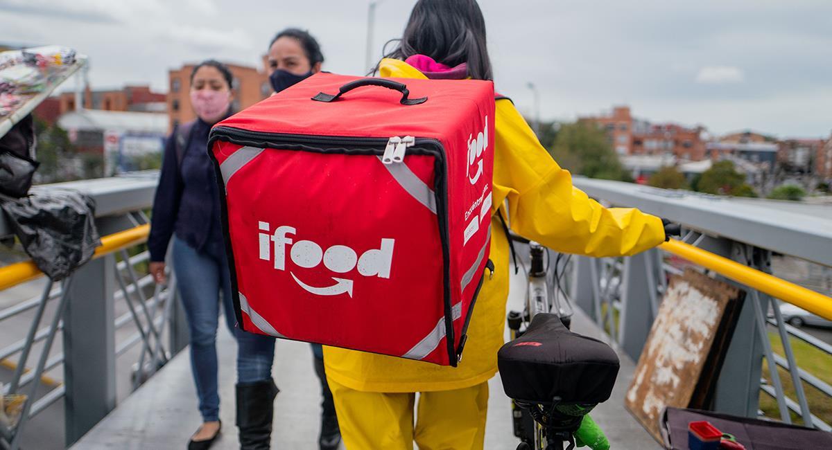 """La expansión de iFood continúa a todos """"los rincones"""" de Colombia. Foto: Twitter @iFoodCO"""