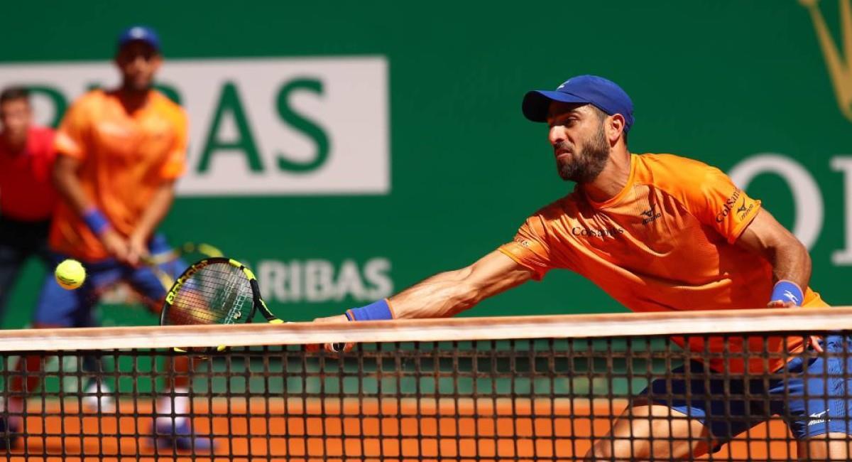 Cabal y Farah, doblistas colombianos del circuito ATP. Foto: Twitter @fedecoltenis