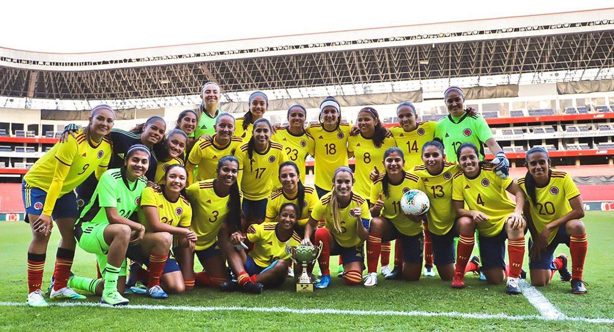 La Selección Colombia Femenina sigue en el lugar número 26 del ranking FIFA. Foto: Twitter @FCFSeleccionCol