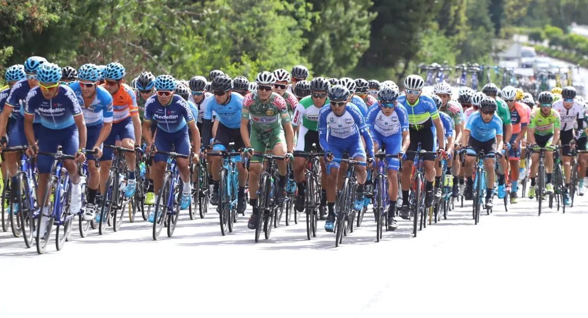 Sigue EN VIVO Y CON SEÑAL DE TV el prólogo de la Vuelta a Colombia 2021. Foto: Twitter @fedeciclismocol