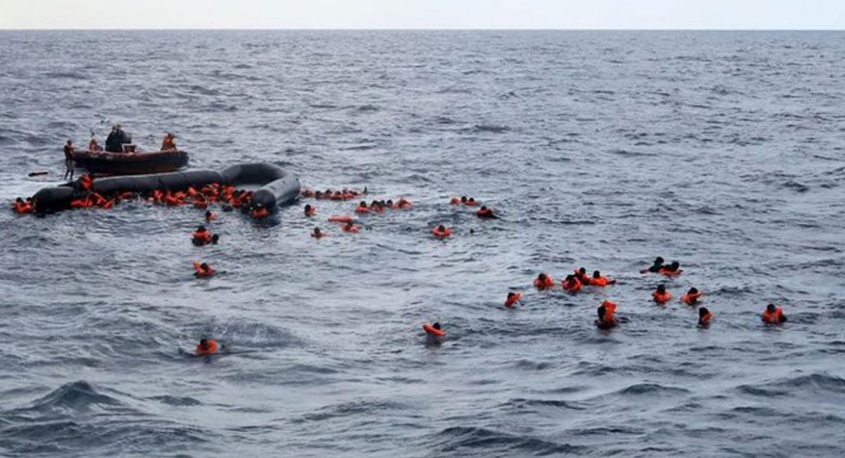 Un nuevo naufragio ocurrió en las costas de Túnez arrojando un saldo fatal de 41 personas. Foto: Twitter @el_carabobeno