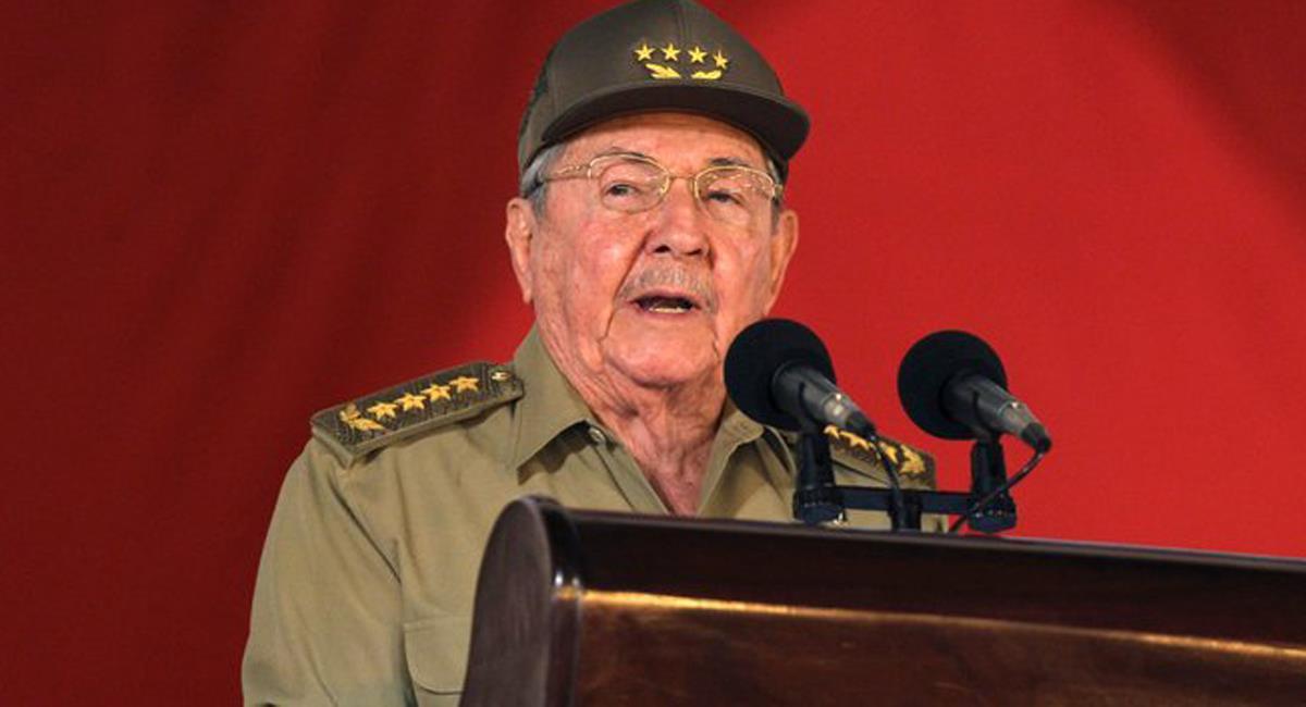 Raúl Castro Ruz de 90 años renunció a su cargo como Primer Secretario del Partido Comunista Cubano. Foto: Twitter @AJEnglés