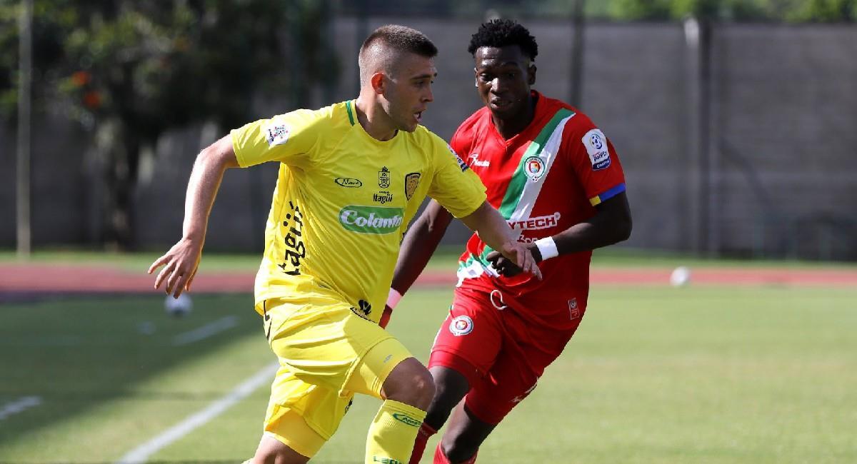 Leones y Cortuluá teminaron igualando 3-3. Foto: Twitter @Dimayor