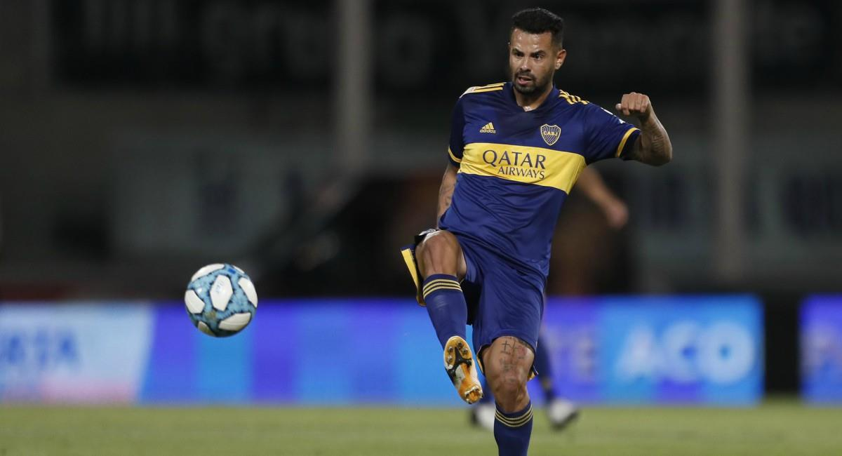 Edwin Cardona dio positivo por Covid - 19. Foto: Twitter Prensa redes Boca Juniors.