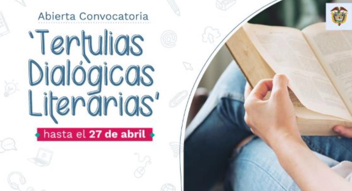 Quedan 8 días para inscribirse en el Proyecto Tertulias Dialógicas Literarias. Foto: Ministerio de Educación