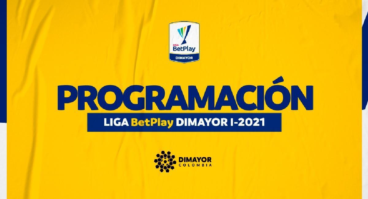 Así se jugarán los cuartos de final de la Liga BetPlay. Foto: Twitter @Dimayor