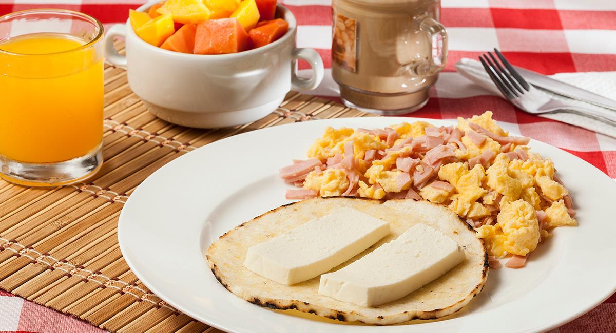 Los desayunos son una comida bastante importante para los colombianos. Foto: Shutterstock