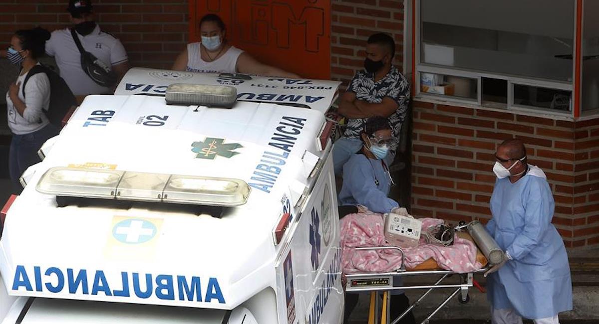 La cepa británica ya se encuentra en Colombia. Foto: EFE