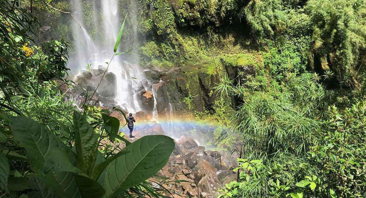 El Parque La Chorrera es uno de los destinos cercanos que debes visitar, alguna vez en la vida. Foto: Instagram @leloballesteros