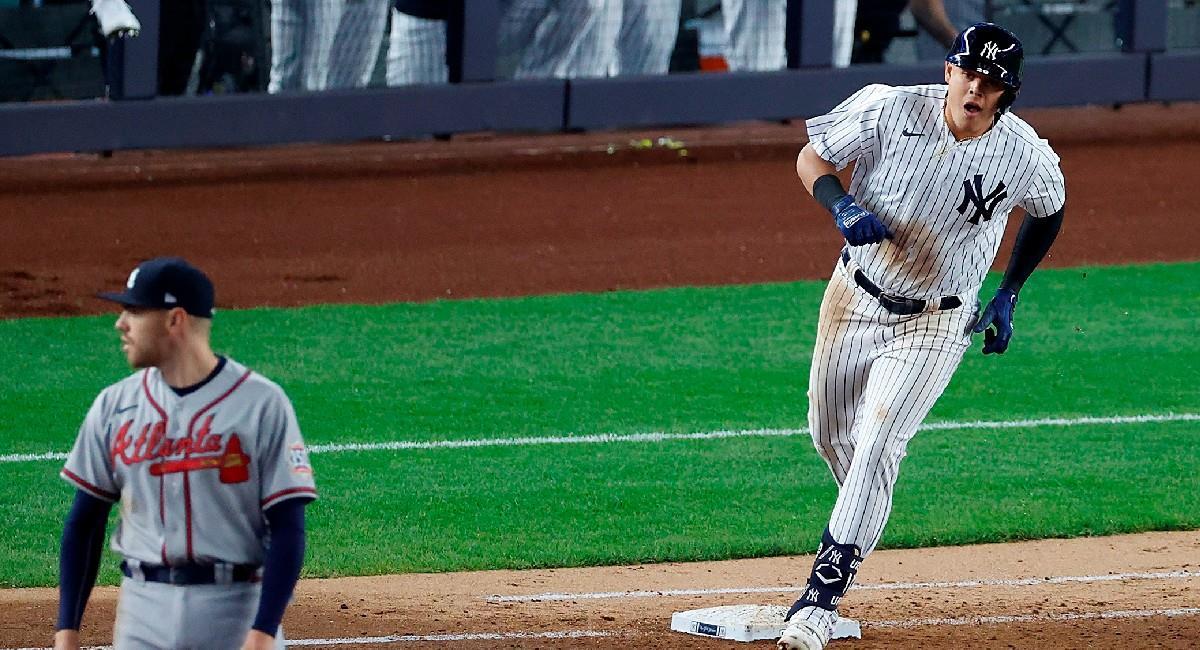 Giovanny Urshela con New York Yankees en la MLB. Foto: EFE