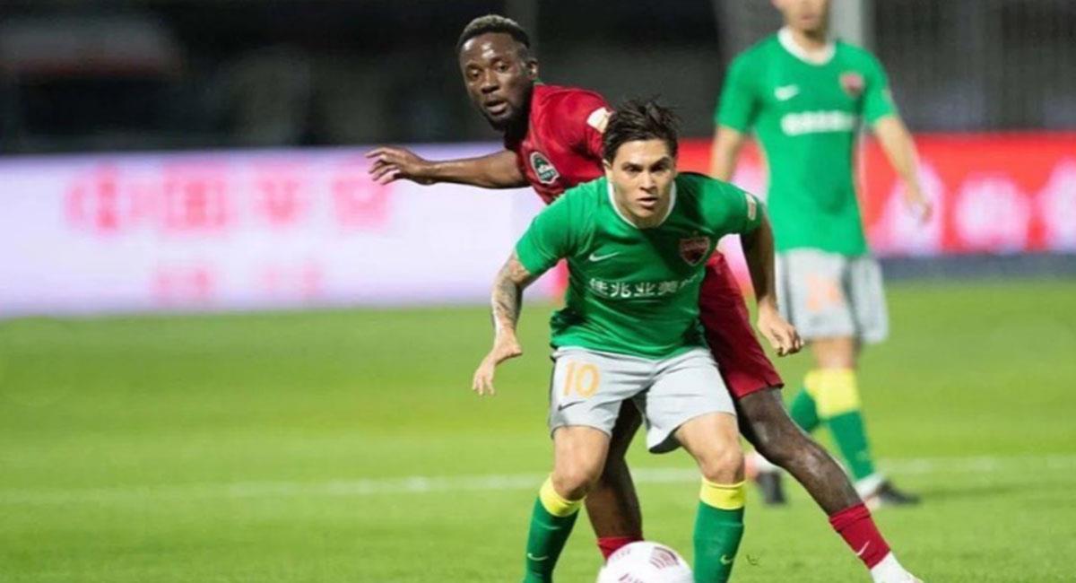 Juan Fernando Quintero volvió a demostrar su clase, ahora en la Superliga de China. Foto: Instagram @fcshenzhen