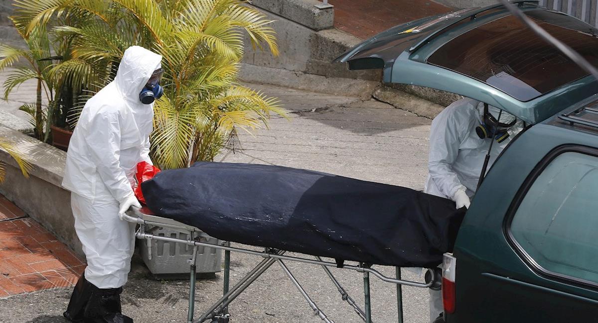 Medellín entra en estado crítico por la ocupación en las UCI. Foto: EFE