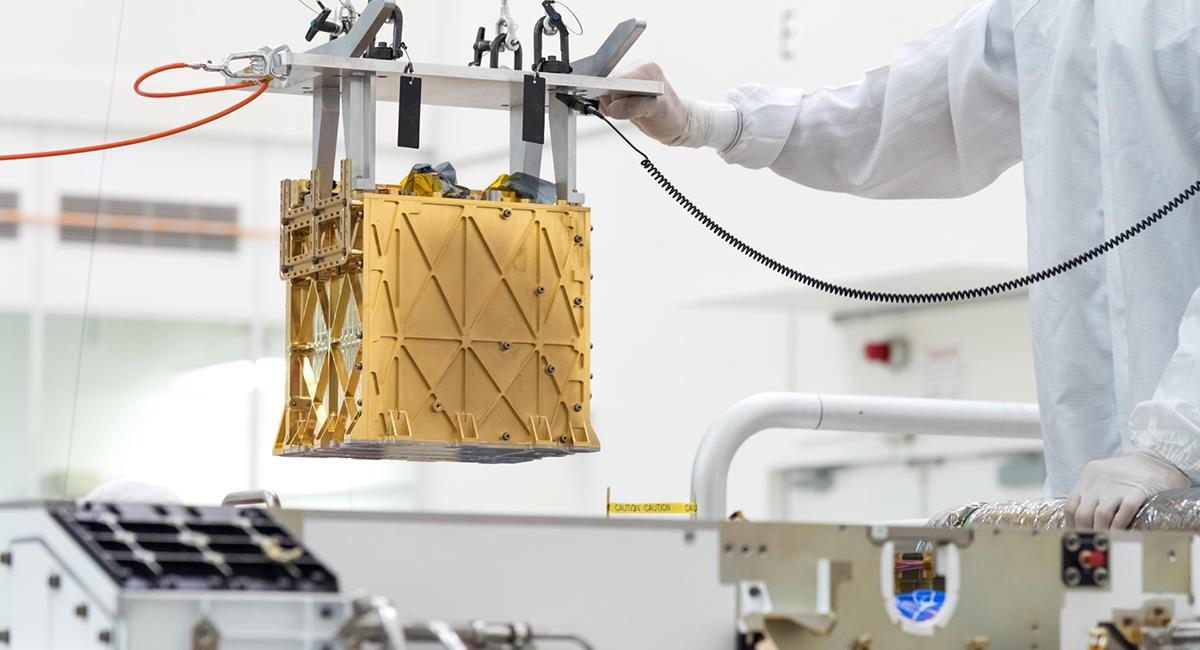 MOXIE  podría producir esas 25 toneladas de oxígeno en Marte, a futuro. Foto: EFE