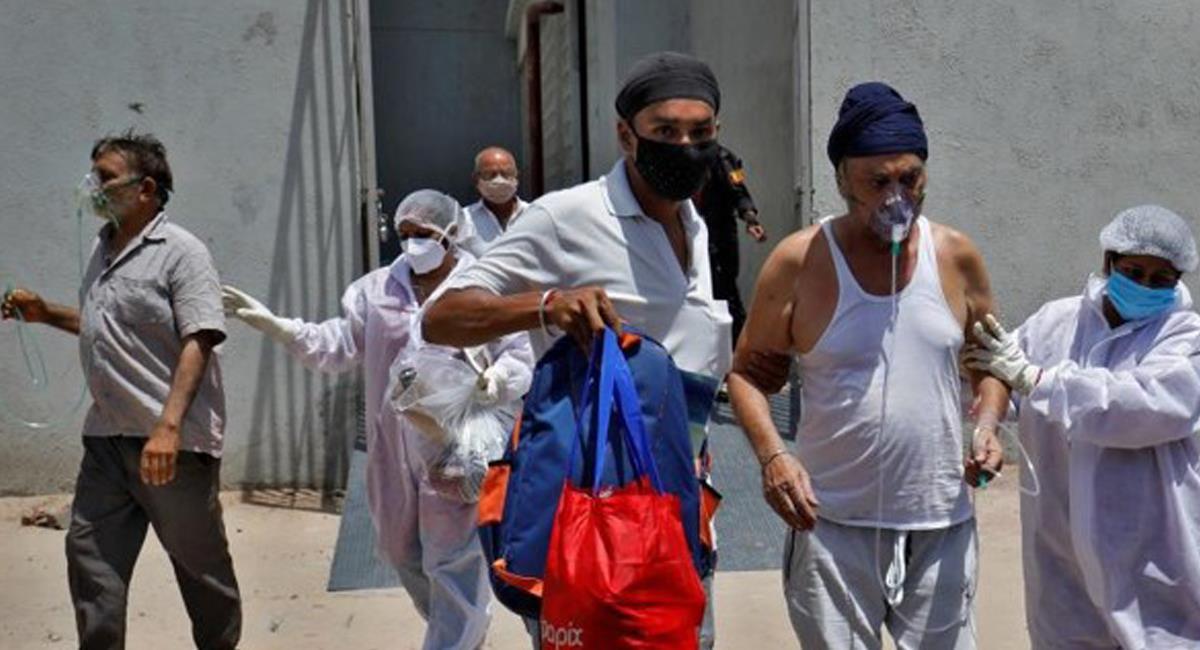 India se encuentra en estado de emergencia debido a la gran cantidad de contagios por la COVID-19  en tan solo 24 horas. Foto: Twitter @jatirado_oc
