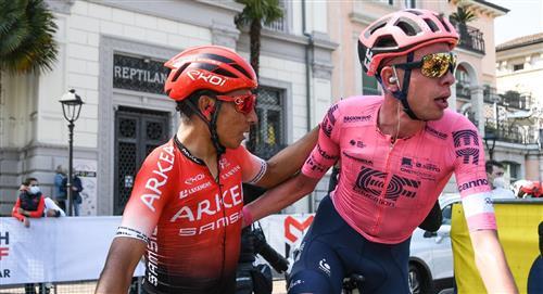 Nairo es top 10 y Osorio el 2do mejor joven del Tour de los Alpes