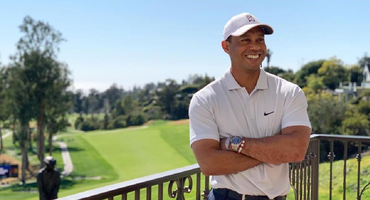 Tiger Woods, golfista estadounidense. Foto: Instagram @tigerwoods