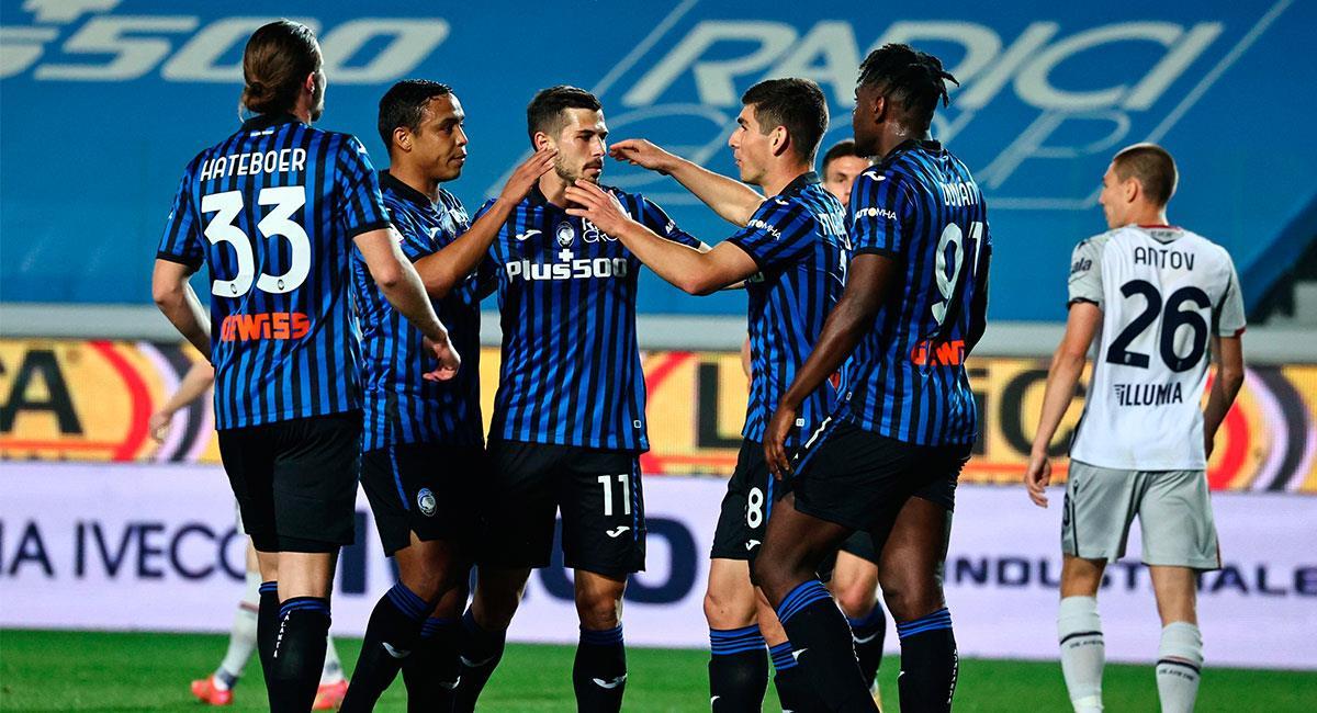 Atalanta sigue en puestos de clasificación para la Champions League. Foto: EFE
