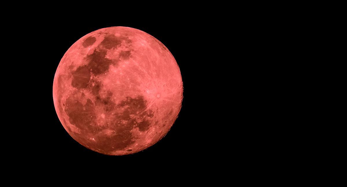 Descubre cómo podría afectarte la superluna rosa de este año. Foto: Shutterstock