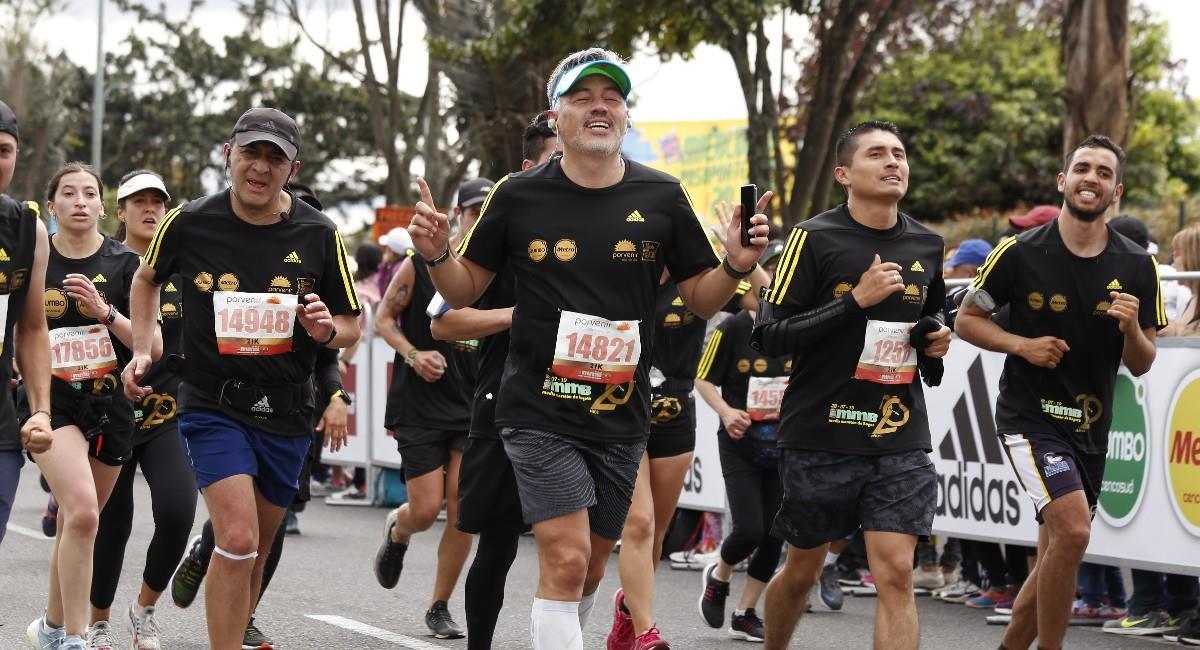 Así podrás participar en la Media Maratón de Bogotá y de manera presencial. Foto: Twitter @mediamaratonbog