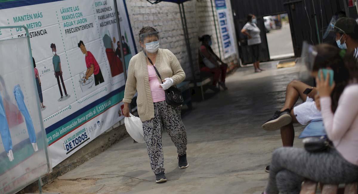 En Perú hay 15.104 personas hospitalizadas por COVID-19. Foto: EFE