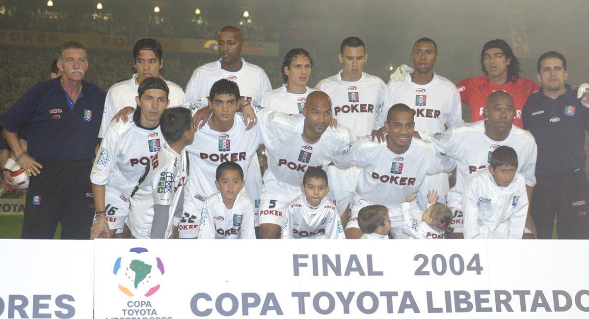 Once Caldas derrotó a Boca Juniors en penales y levantó la Copa Libertadores. Foto: Twitter @oncecaldas