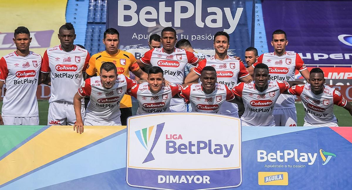 Santa Fe jugará en Armenia por cuenta de las restricciones en Bogotá. Foto: EFE