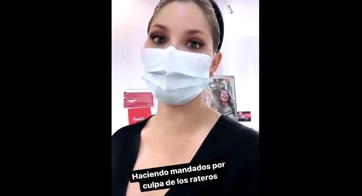 La presentadora de ESPN, Melissa Martínez, fue asaltada en Bogotá. Foto: Instagram @melissamartineza