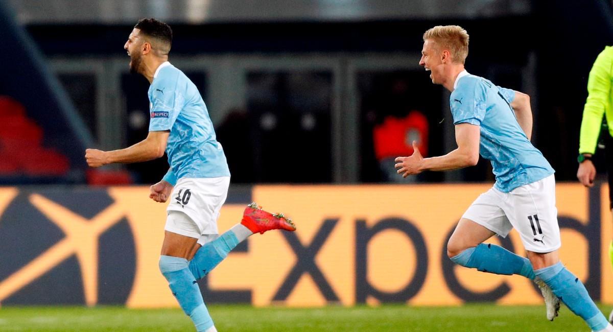 Manchester City derrota a PSG en la ida de las semifinales de Champions League. Foto: EFE