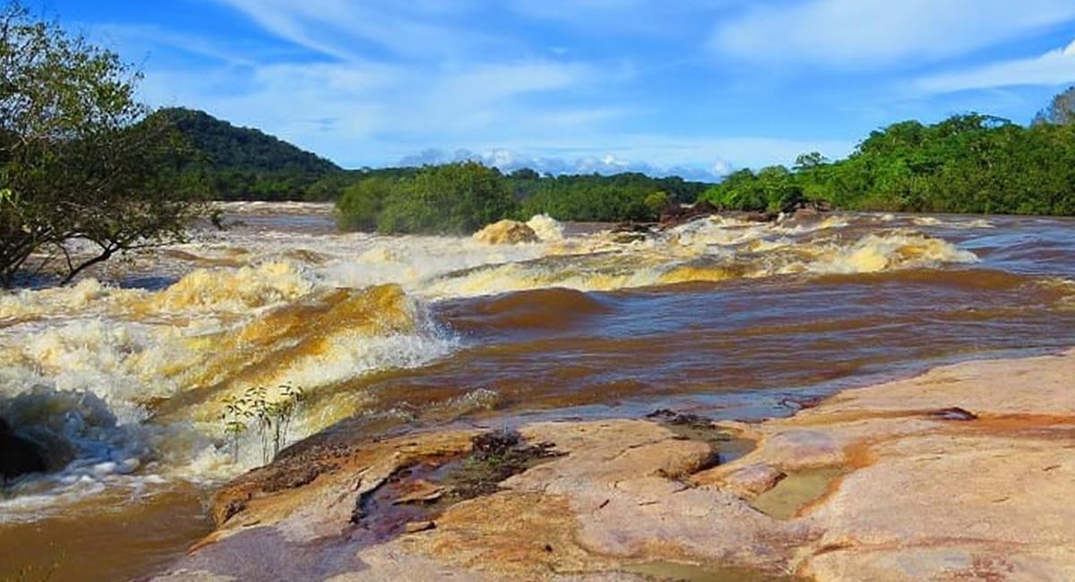 El Vichada, tiene entre sus 'tesoros naturales' al Parque Natural El Tuparro. Foto: Twitter  @JPEspinosaTeam