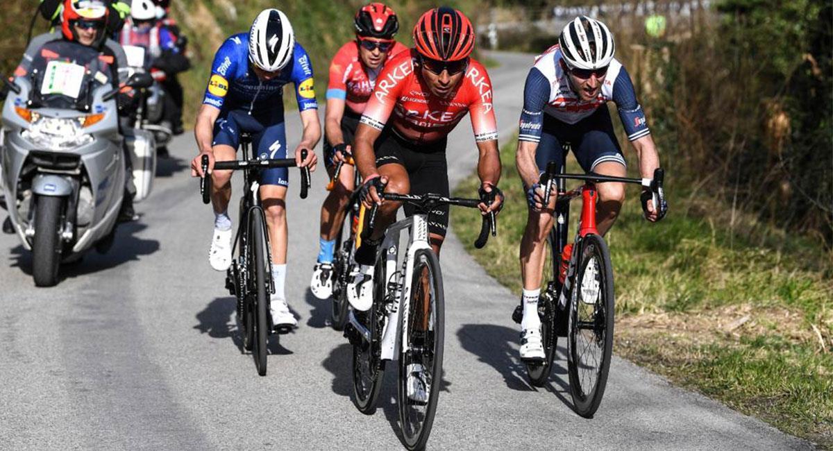 Nairo Quintana ya logró conseguir el título de la Vuelta a Asturias. Foto: Twitter @NairoQuinCo