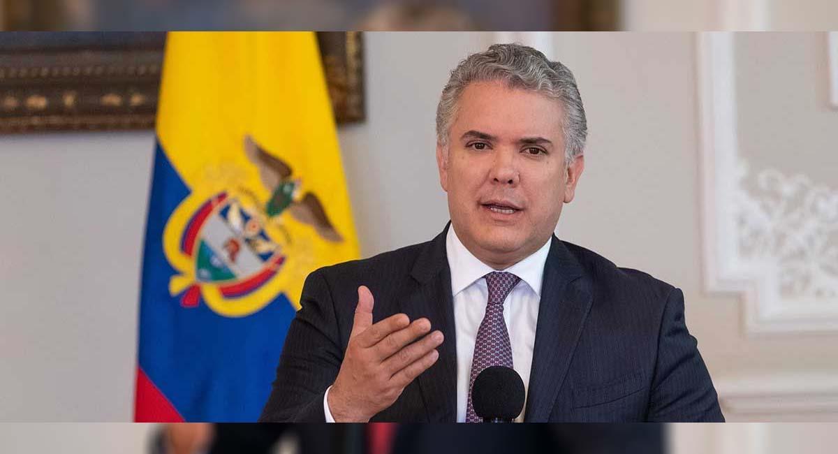 Iván Duque, presidente de Colombia. Foto: Presidencia Colombia
