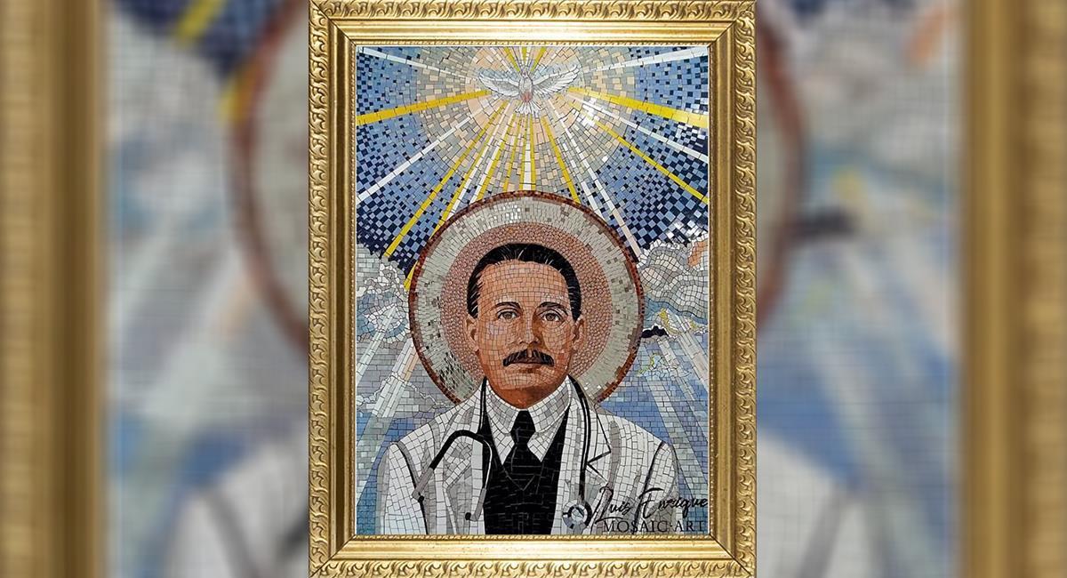 San Gregorio Hernández: ritual para pedir pronta cura a males y enfermedades. Foto: Twitter @Mippcivla