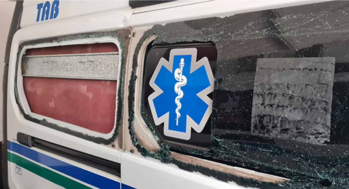Unidades de salud se vieron afectadas durante las manifestaciones en Cali. Foto: Alcaldía de Cali