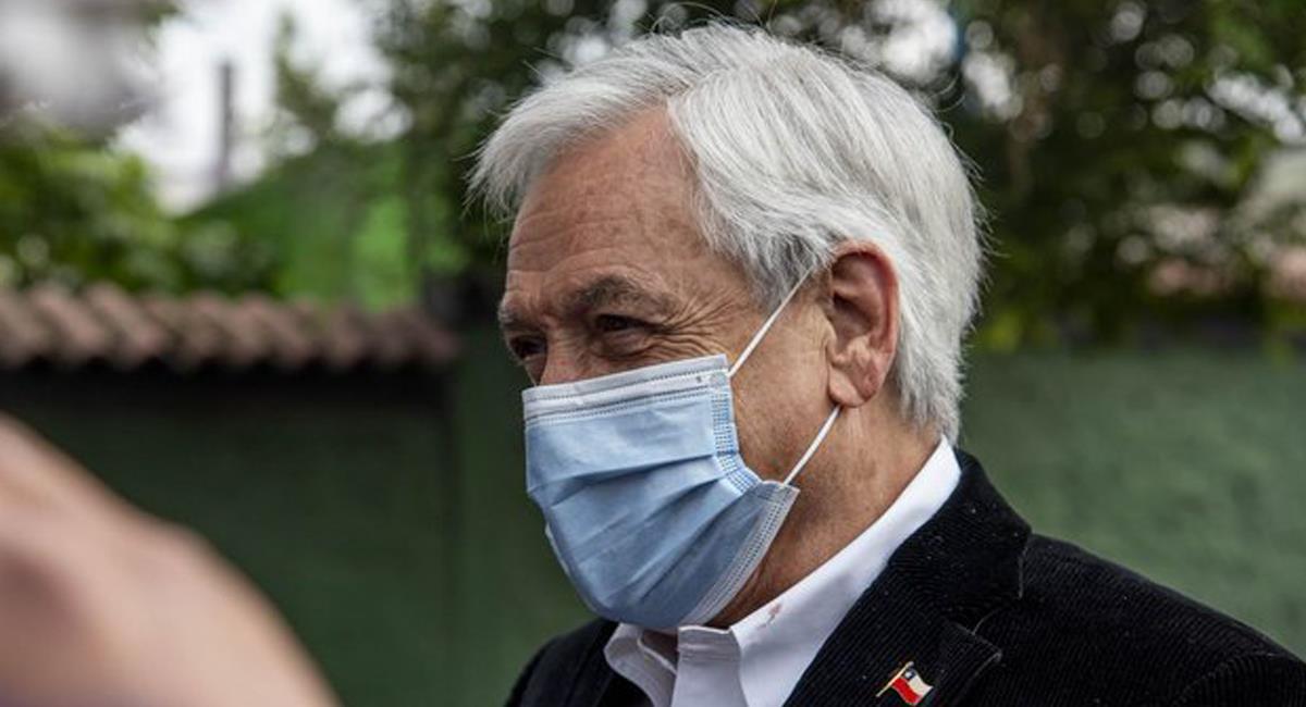 El presidente de Chile, Sebastián Piñera, es acusado de crímenes de lesa humanidad por las muertes de manifestantes en protestas del año 2019. Foto: Twitter @economics